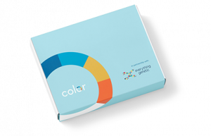 Color-Extended testing kit box