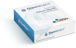 OncoSELECT testing kit box